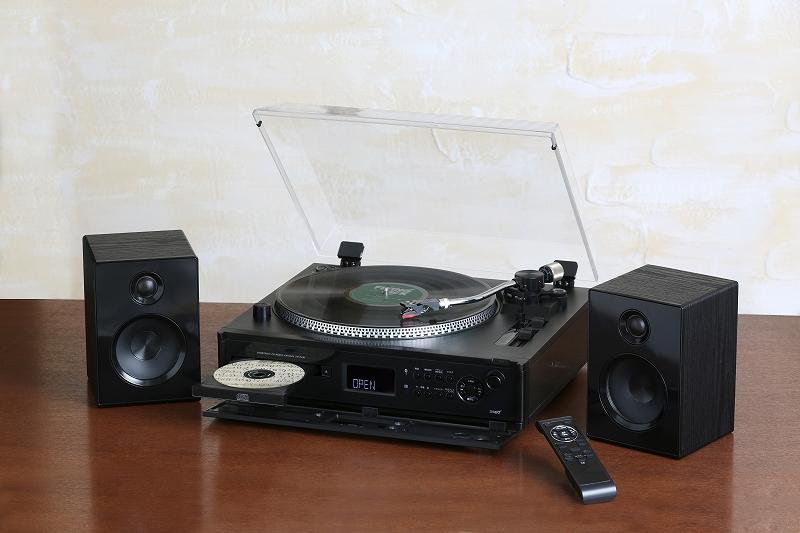 高音質・多機能ターンテーブル搭載マルチプレーヤー/TCD-991EB
