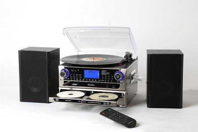 CD・USB・SDに録音できるマルチプレーヤー/TCDR-286WC