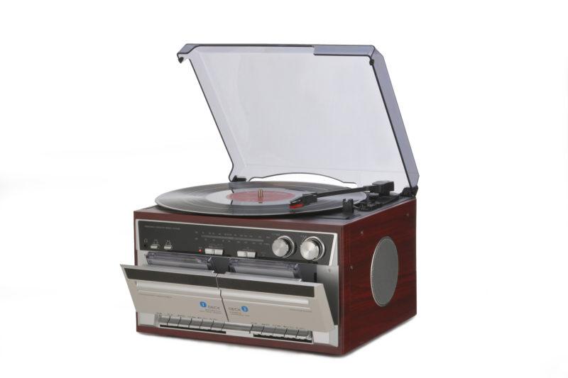 ダブルカセットレコードプレーヤー/TT-386W