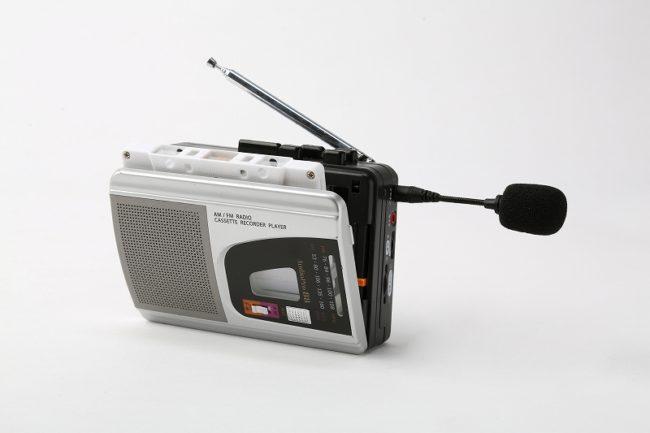 大型集音マイク付きミニラジカセ/WM-868